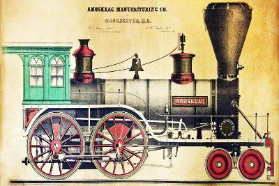 The Amoskeag-J.H. Bufford-Giclee Print