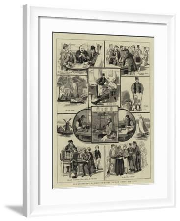 The Amsterdam Exhibition, Notes in and About the City--Framed Giclee Print