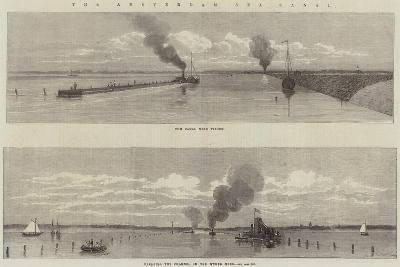The Amsterdam Sea Canal--Giclee Print