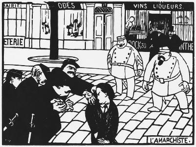 The Anarchist, 1892-F?lix Vallotton-Giclee Print