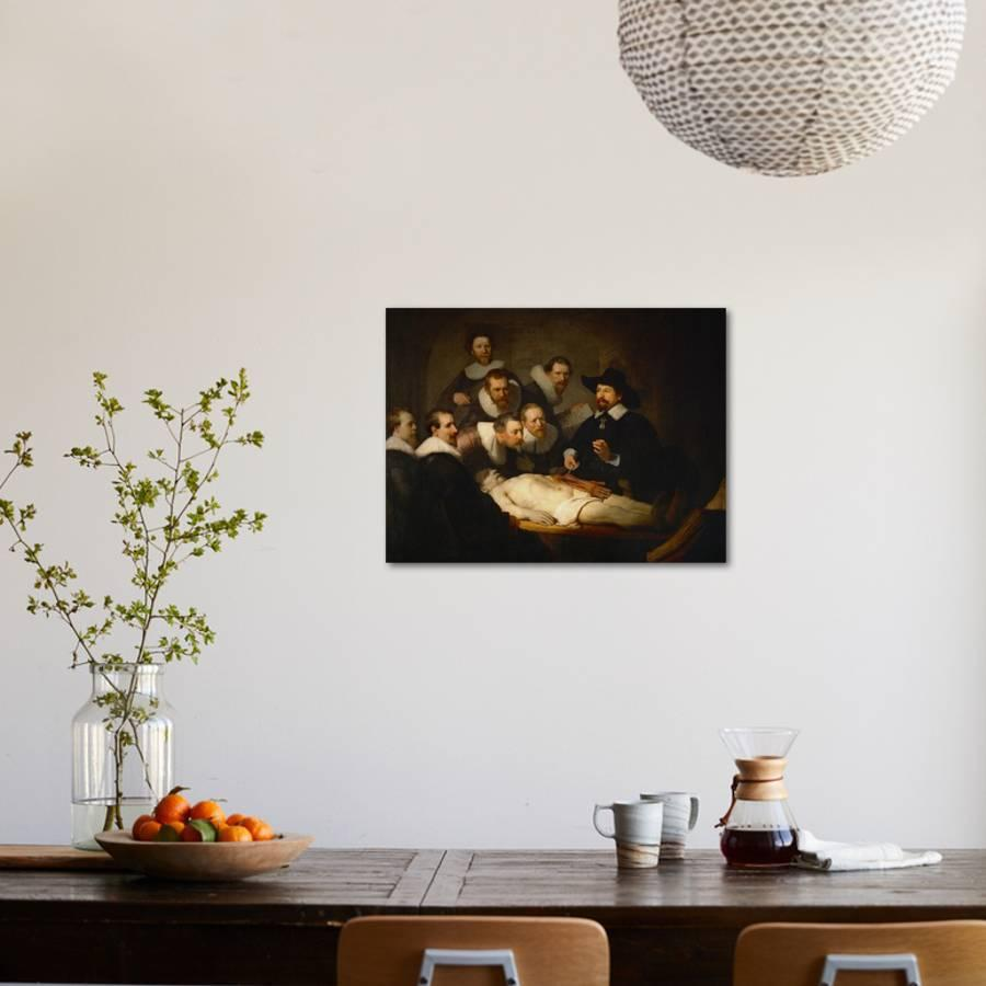 The Anatomy Lesson of Dr. Nicolaes Tulp Giclee Print by Rembrandt ...