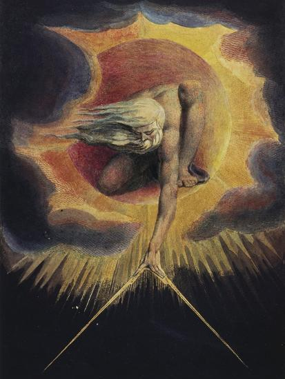 The Ancient of Days, 1794-William Blake-Giclee Print