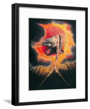 The Ancient of Days-William Blake-Framed Giclee Print