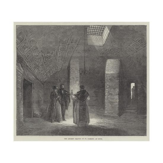 The Ancient Oratory of St Clement, at Rome--Giclee Print