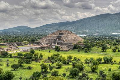 The Ancient Pyramid of the Moon. the Second Largest Pyramid in Teotihuacan, Mexico-Felix Lipov-Photographic Print