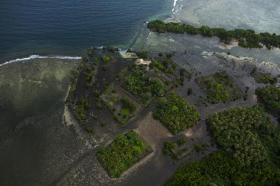 The Ancient Ruins of Micronesia's Nan Madol, Seen From the Air-Stephen Alvarez-Photographic Print