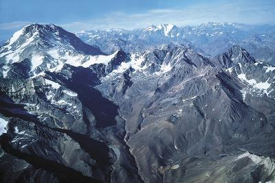 The Andes and Aconcagua--Photographic Print