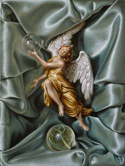 The Angel, 2007-Miriam Escofet-Giclee Print