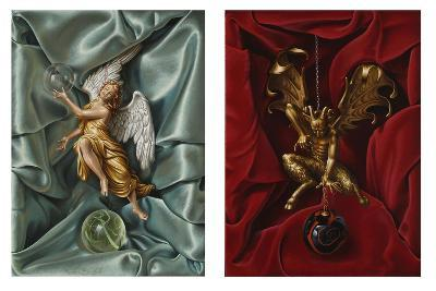 The Angel and Devil, 2007-Miriam Escofet-Giclee Print