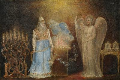 The Angel Appearing to Zacharias, 1799–1800-William Blake-Giclee Print