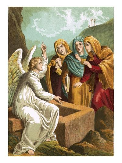 The Angel at the Sepulchre-English-Giclee Print