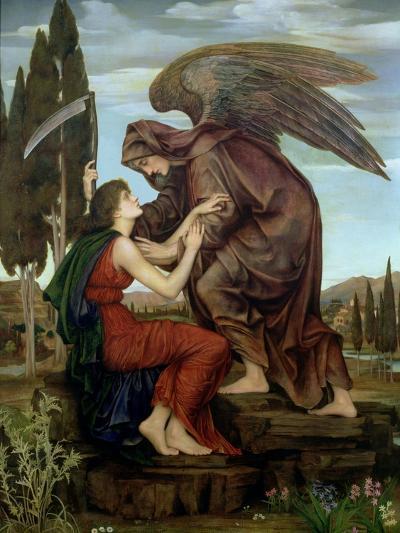 The Angel of Death, 1890-Evelyn De Morgan-Giclee Print