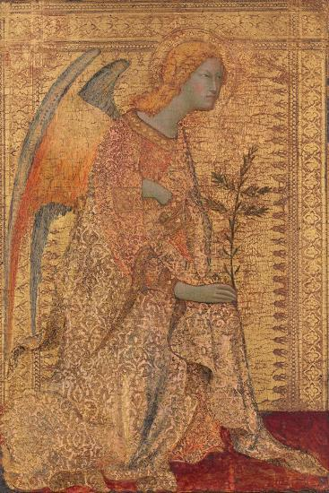 The Angel of the Annunciation, C.1333-Simone Martini-Giclee Print