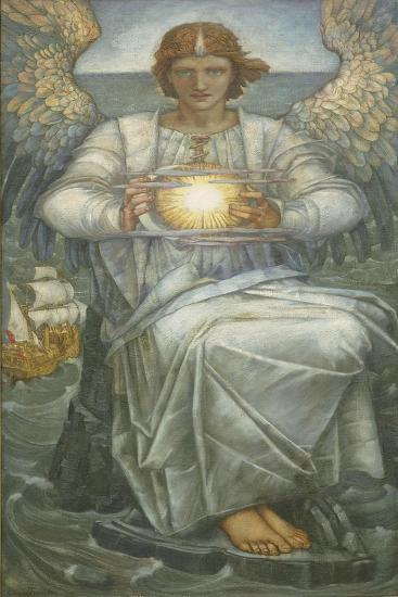 The Angel of the Sea, 1906-Edward Reginald Frampton-Giclee Print