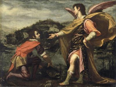 The Angel Raphael to Tobias Ordered to Open the Fish--Giclee Print