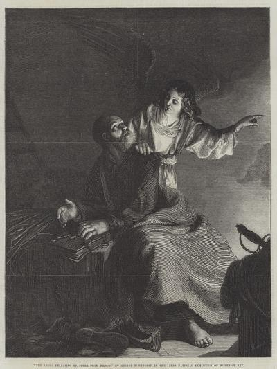 The Angel, Releasing St Peter from Prison-Gerrit van Honthorst-Giclee Print