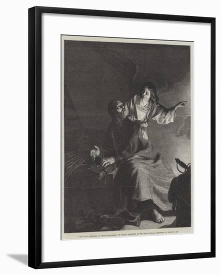 The Angel, Releasing St Peter from Prison-Gerrit van Honthorst-Framed Giclee Print