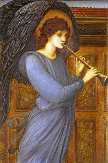 The Angel-Edward Burne-Jones-Giclee Print