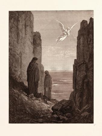 The Angelic Guide-Gustave Dore-Giclee Print