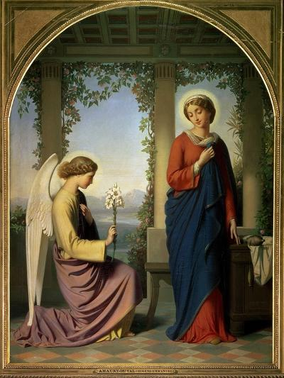 The Angelic Salutation, or the Annunciation, 1860-Eugene Emmanuel Amaury-Duval-Giclee Print