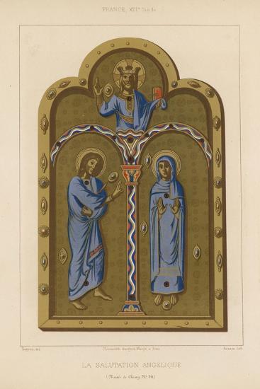 The Angelic Salutation--Giclee Print