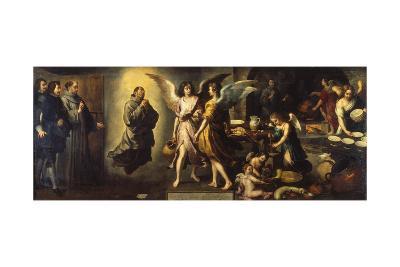The Angels' Kitchen, 1646-Bartolom? Est?ban Murillo-Giclee Print