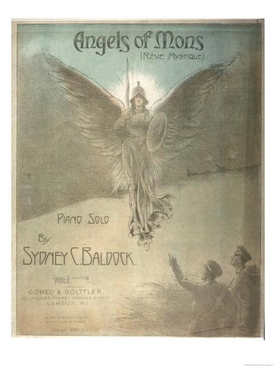 The Angels of Mons, Music Inspired by the Rumour of Angelic Intervention in the Fighting--Giclee Print
