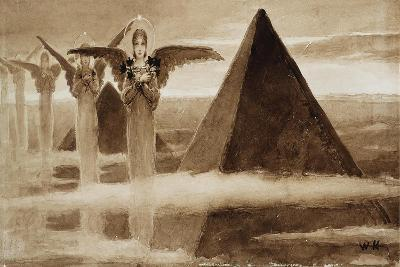 The Angels of the Pyramids-Vasilii Kotarbinsky-Giclee Print