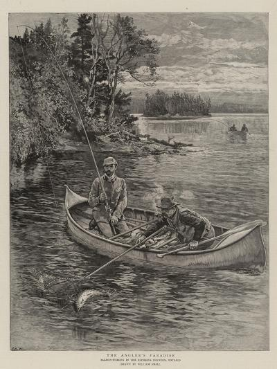 The Angler's Paradise-William Small-Giclee Print