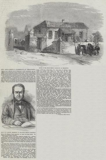The Anglo-French Commission at Sebastopol--Giclee Print