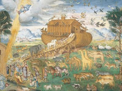 The Animals Enter Noah's Ark-Aurelio Luini-Giclee Print