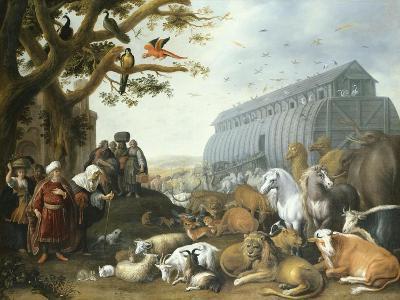 The Animals Entering Noah's Ark, 1650-Giovanni Battista Benvenuti-Giclee Print
