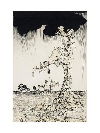 'The Animals You Know Are Not As They Are Now'-Arthur		 Rackham-Giclee Print