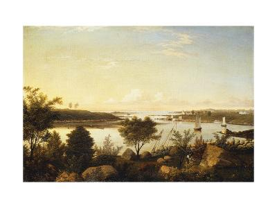 The Annisquam River Looking Toward Ipswich Bay-Fitz Hugh		 Lane-Giclee Print