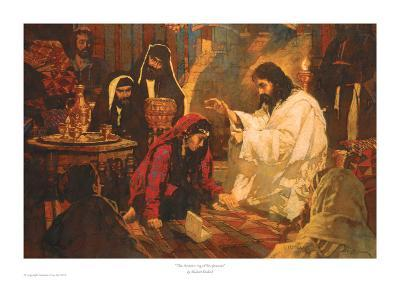 The Annointing of Forgiveness-Michael Dudash-Art Print