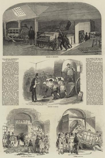 The Annual Exhibition of the Smithfield Club--Giclee Print