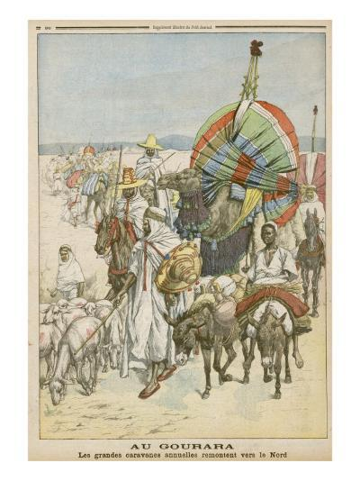 The Annual Migration of Algerian Tribes, for the Purpose of Trading--Giclee Print