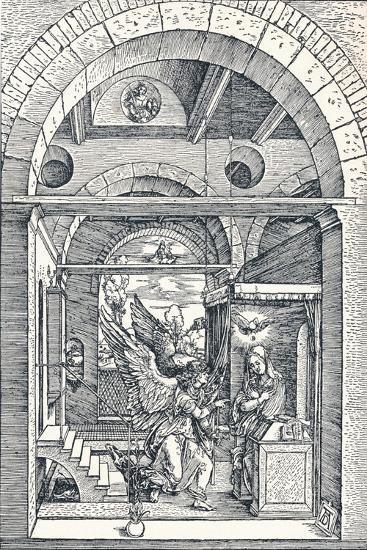 The Annuciation, 1506-Albrecht D?rer-Giclee Print