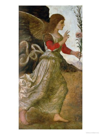 The Annunciating Angel Gabriel-Melozzo da Forl?-Giclee Print