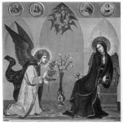 The Annunciation, 1333-J Petot-Giclee Print