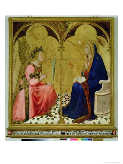 The Annunciation, 1344-Ambrogio Lorenzetti-Giclee Print
