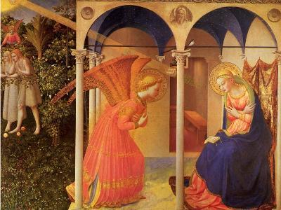 The Annunciation, 1400-Fra Angelico-Giclee Print