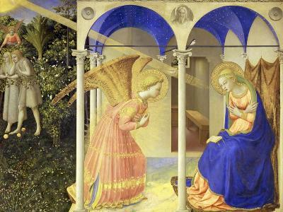 The Annunciation, 1426-1428-Fra Angelico-Giclee Print