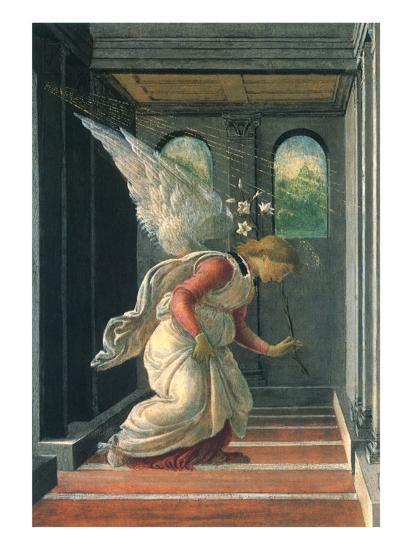 The Annunciation, 1480-Sandro Botticelli-Giclee Print