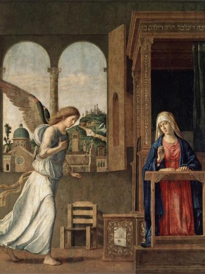 The Annunciation, 1495-Giovanni Battista Cima Da Conegliano-Giclee Print