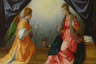 The Annunciation, 1528-Andrea del Sarto-Giclee Print