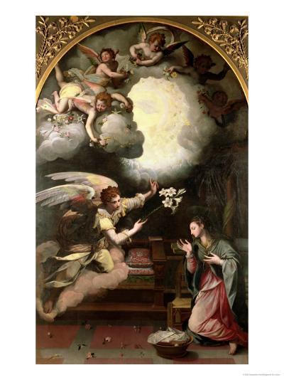 The Annunciation, 1579-Alessandro Allori-Giclee Print