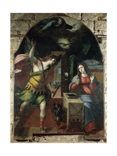 The Annunciation, 1590-Wenceslas Cobergher-Giclee Print