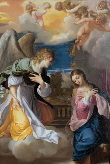 The Annunciation, 1603-1604-Lodovico Carracci-Giclee Print