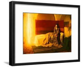 The Annunciation, 1898-Henry Ossawa Tanner-Framed Giclee Print